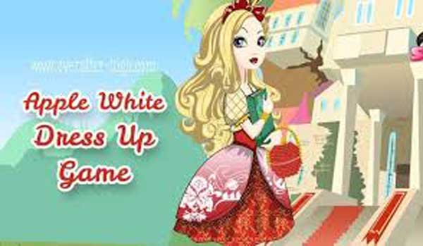 Apple White dress up
