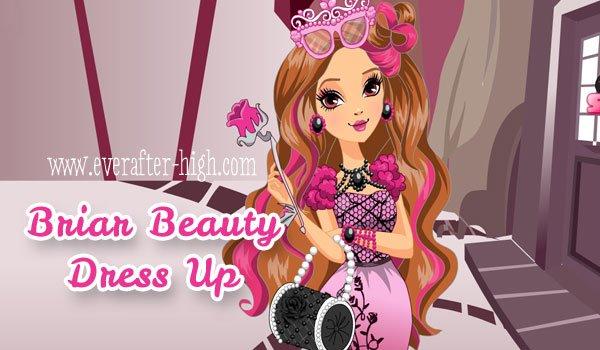 Briar Beauty dress up