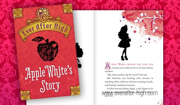 Ever After High Apple White's Story Book