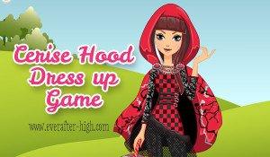 Cerise Hood Dress up