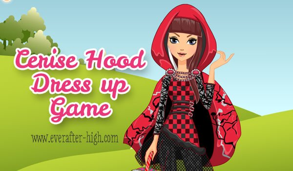 Cerise Hood Dress up Game