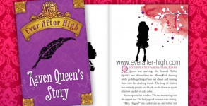 Ever After High Raven Queen Book Story