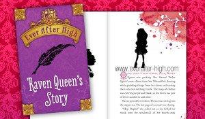 Raven Queen's Story Book