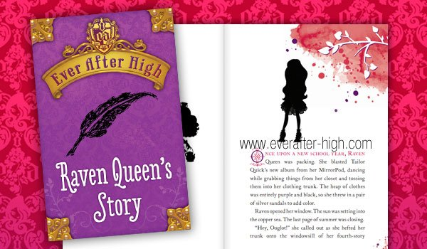 Ever After High Raven Queen's Story Book
