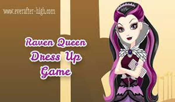 Raven Queen dress up