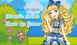 Blondie Lockes Dress up