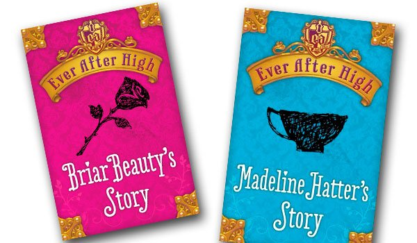 Briar Beauty & Madeline Hatter's Covers