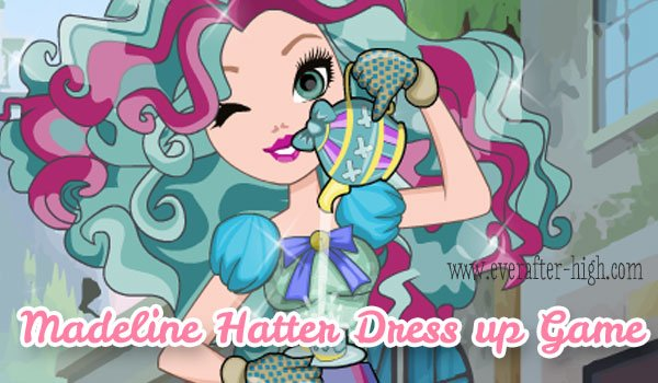 Madeline Hatter Fashion Dress up