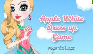 Royal Apple White dress up