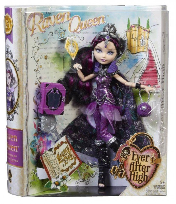 Legacy Day Raven Queen Doll Box