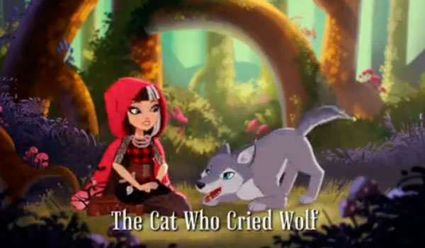 The cat who cried wold ever after high video