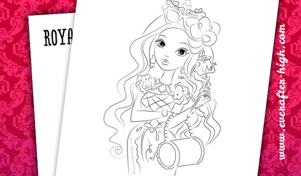Briar Beauty Coloring Pages 6 By EverAfterHigh