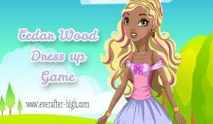 Cedar Hood dress up