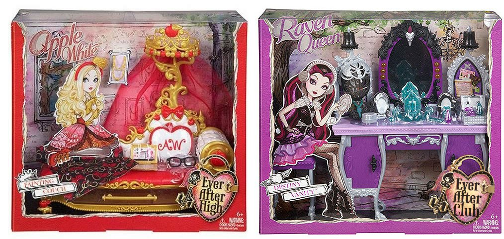 playsets packaging