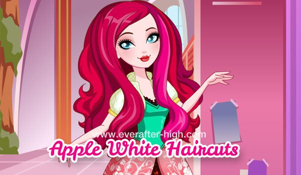 Apple White Haircuts