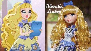 Blondie Lockes Doll