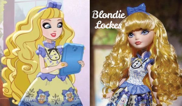 Blondie Lockes Doll