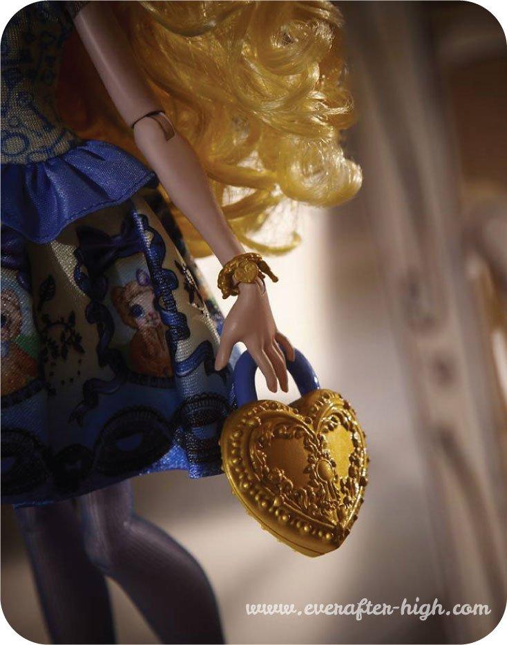 Blondie lockes doll with handbag
