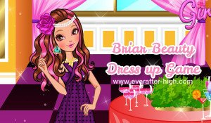 Briar Beauty dress up for a restaurant date