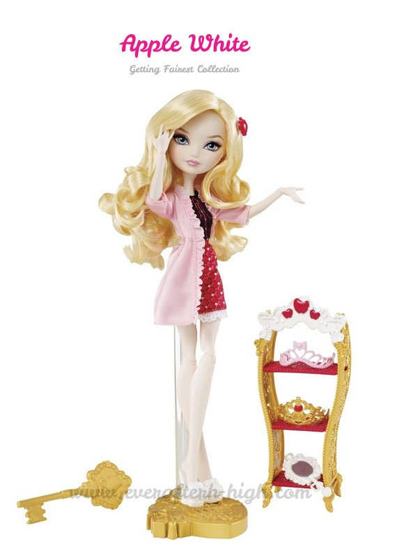 Getting Fairest Apple White Doll with accessories