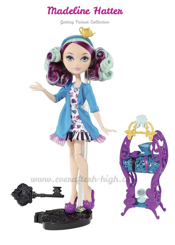 Getting Fairest Madeline Hatters Doll with accessories