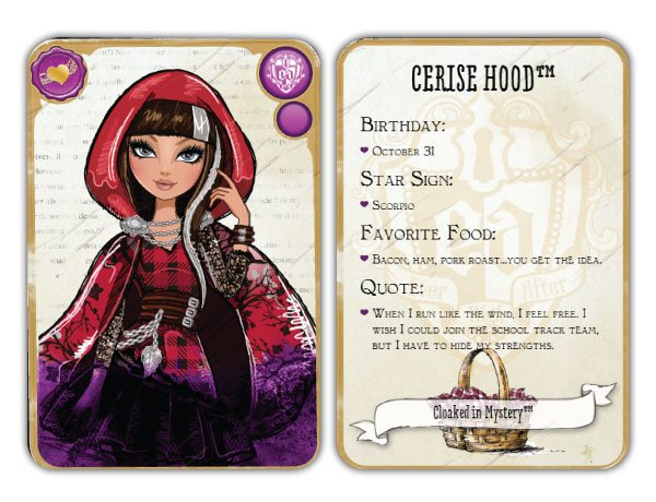 Cerise Hood Character | Ever After High