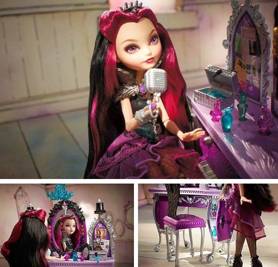 Raven Queen Destiny Vanity Playset images
