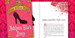 Ever After High Ashlynn Ella's Story Book