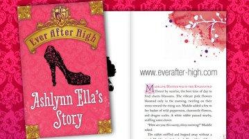Ever After High Ashlynn Ella's Story Book
