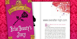Ever After High Briar Beauty's Story Book