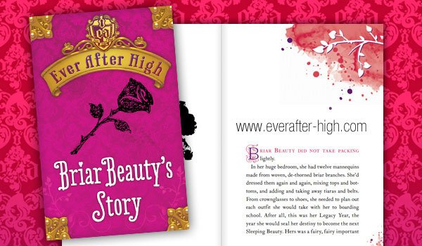 Briar Beauty's Story Book