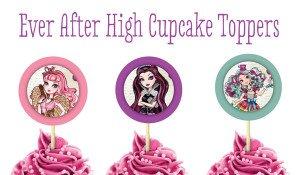 EAH Cupcake Toppers