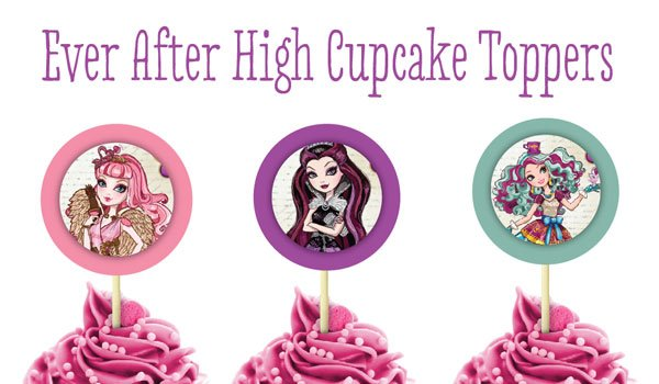 EAH Cupcake Toppers