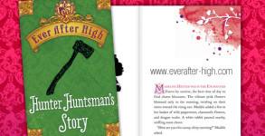 Ever After High Hunter Huntsman's Story Book