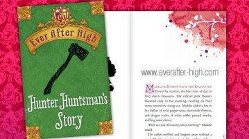 Ever After High Hunter Huntsman's Story Book