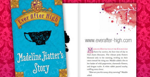 Ever After High Madeline Hatter's Story Book