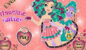 Madeline Hatter Make up