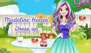 Madeline Hatter Tea Time Dress up