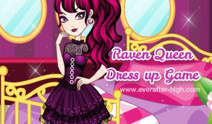 Raven Queen's Bedroom Dress up