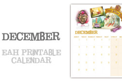 December page ever after high calendar