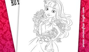 Coloring Page from C.A. Cupid