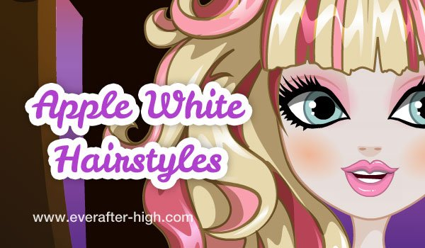Apple White hairstlyes salon makeover