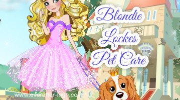 Blondie Lockes pet care day