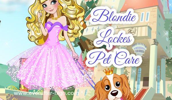 Blondie Lockes pet care day