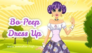 Bo-Peep sunrise dress up