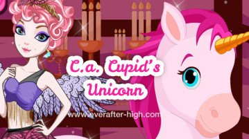 C.A. Cupid unicor dress up