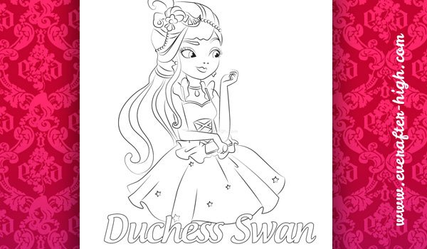Coloring Duchess Swan