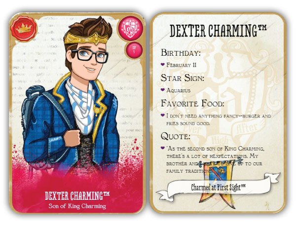 Dexter Charming Card