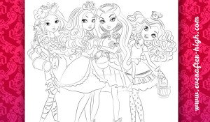Raven, Madeline, Briar and Apple