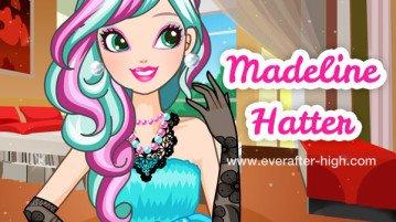Madeline Hatter elegant makeover